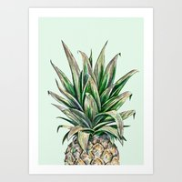 Pineapple 8a Art Print
