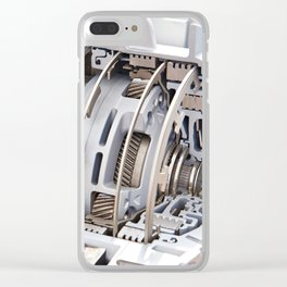 Gears automatic transmission Clear iPhone Case