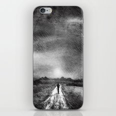 it's raining again (b&w) iPhone & iPod Skin