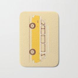 Yellow Van II Bath Mat