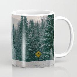 Lost in Winter Coffee Mug