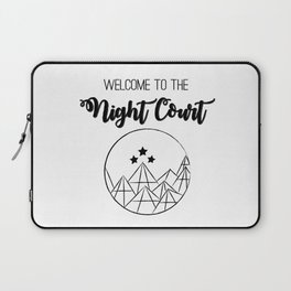 Welcome to the Night Court | Acomaf Laptop Sleeve