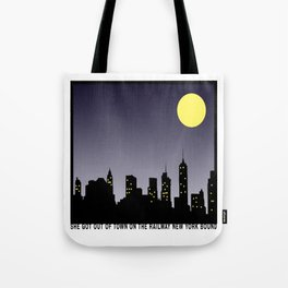 Bright Lights | Matchbox 20 Inspired Lyric Art Print Tote Bag