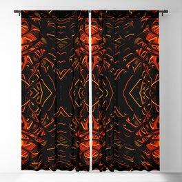 Pumpkin Pearl Sea Fan II by Chris Sparks Blackout Curtain