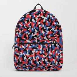 Camouflage pattern - Berlin subway train seat  anti graffiti pattern design Backpack
