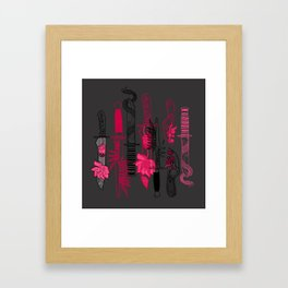 Knife Party Framed Art Print