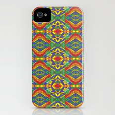 Stain Glass Tile iPhone (4, 4s) Slim Case