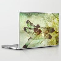 dragonfly Laptop & iPad Skins featuring Dragonfly by SpaceFrogDesigns