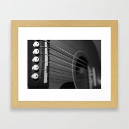 fret Framed Art Print