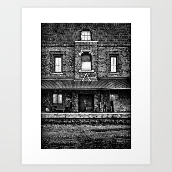 No 409 Front St E Toronto Canada Art Print