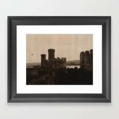 Conwy Castle Framed Art Print