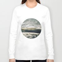 waves Long Sleeve T-shirts featuring Waves by josemanuelerre