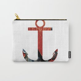 PATINA ANCHOR RED Carry-All Pouch