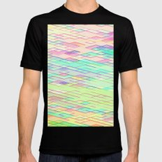 Re-Created Vertices No. 0 by Robert S. Lee MEDIUM Black Mens Fitted Tee