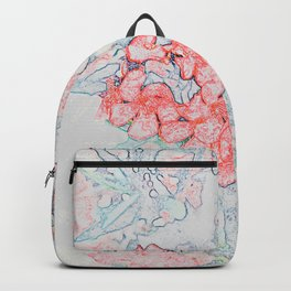 Spring Red Flowers Backpack