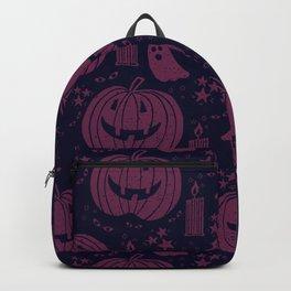 Spooky Halloween - purple  Backpack