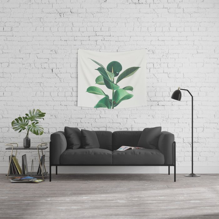 Rubber Fig Wall Tapestry