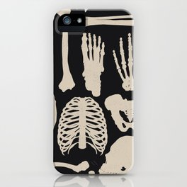 Osteology iPhone Case