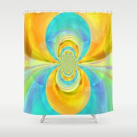 happiness Shower Curtains featuring Happiness by lillianhibiscus