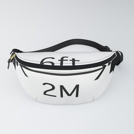 Social_Distancing_Sign Fanny Pack