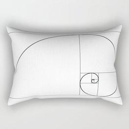 Fibonacci Spiral Rectangular Pillow