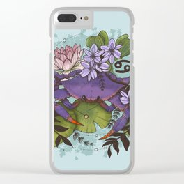 Cancer Clear iPhone Case