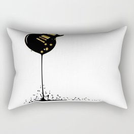 Flowing Music Rectangular Pillow