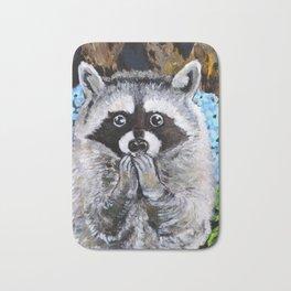 Mischief the Raccoon Bath Mat