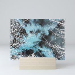 Green Clouds Mini Art Print