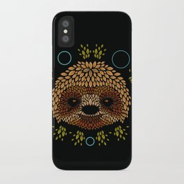 Sloth Face iPhone Case