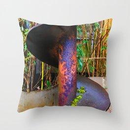 Auger Throw Pillow