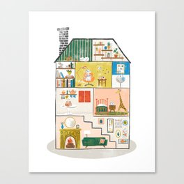 Doll House Canvas Print