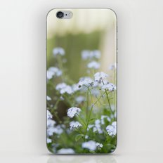 forget me not. iPhone & iPod Skin