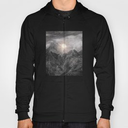 Lines in the mountains VIII Hoody