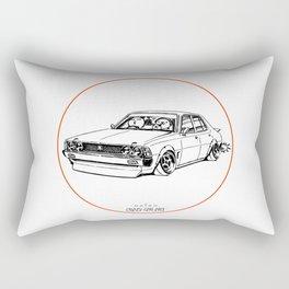 Crazy Car Art 0204 Rectangular Pillow