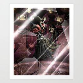Grimm ritual - hollow knight Art Print