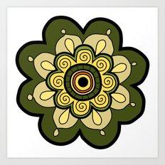 Flower 12 Art Print