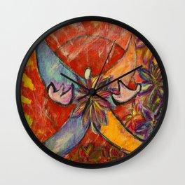 Fire Fly Wall Clock