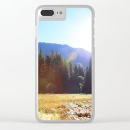 Yosemite National Park, Yosemite Valley, California Clear iPhone Case