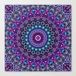 Mosaic Kaleidoscope 3 Canvas Print