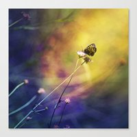 fairy Canvas Prints featuring Fairy by Ark.Us.