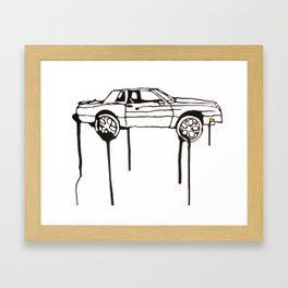 Scraper Framed Art Print
