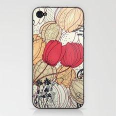 tulip garden iPhone & iPod Skin