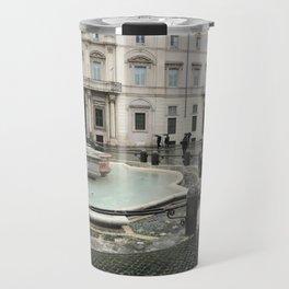 3 legged man in Piazza Navona Rome Italy Travel Mug