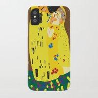 klimt iPhone & iPod Cases featuring klimt by John Sailor