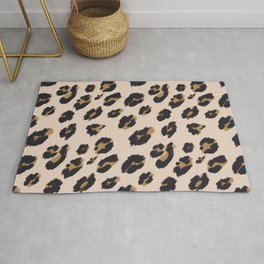 B&B Leopard Design Rug