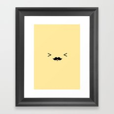 Cute and funny Framed Art Print
