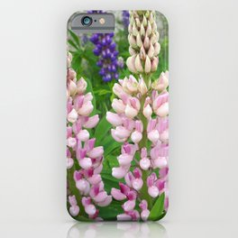 Lupins iPhone Case