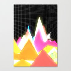 Synthscape Canvas Print