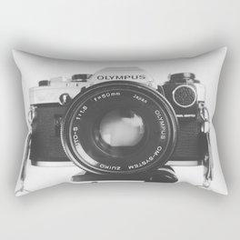 Vintage happy snap Rectangular Pillow
